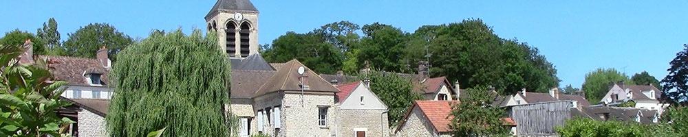 Vue sur l'église